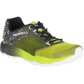 Merrell All Out Crush 2 - Chaussures running Homme - jaune/gris
